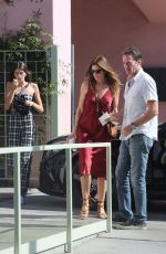 CINDY CRAWFORD and KAIA GERBER Out in Santa Monica 10/15/2017