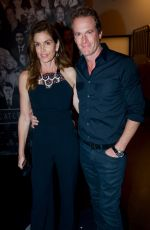 CINDY CRAWFORD and Randy Gerber at Catch LA in West Hollywood 10/22/2017