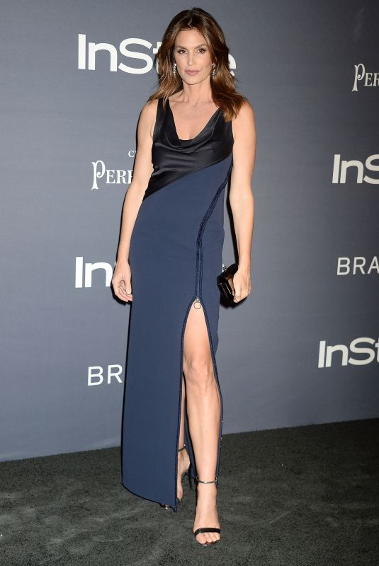 CINDY CRAWFORD at 2017 Instyle Awards in Los Angeles 10/23/2017