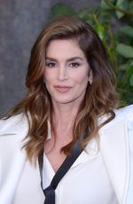 CINDY CRAWFORD at Chanel Fashion Show in Paris 10/03/2017