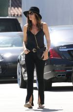 CINDY CRAWFORD Out and About in Malibu 10/10/2017