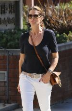 CINDY CRAWFORD Out and About in Santa Monica 10/16/2017