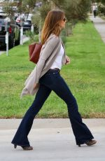 CINDY CRAWFORD Out and About in Santa Monica 10/30/2017