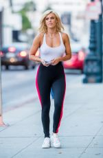 CJ LANA PERRY in Tights Out in Beverly Hills 10/19/2017