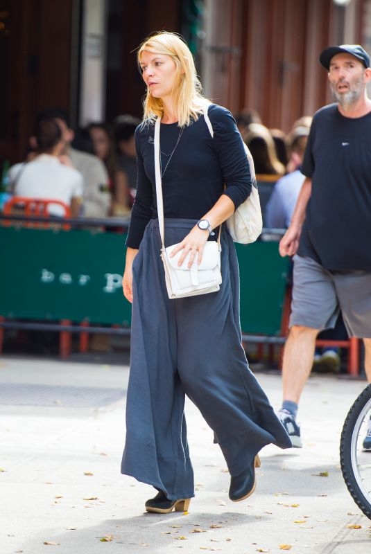 CLAIRE DANES Out and About in New York 10/11/2017