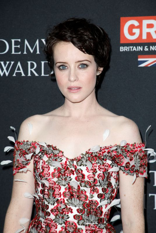 CLAIRE FOY at Bafta Los Angeles Britannia Awards in Los Angeles 10/27/2017