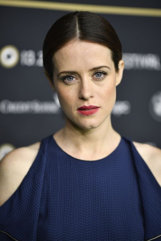 CLAIRE FOY at Breathe Premiere at 13th Zurich Film Festival 10/06/2017