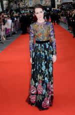 CLAIRE FOY at Breathe Premiere At BFI London Film Festival 10/04/2017