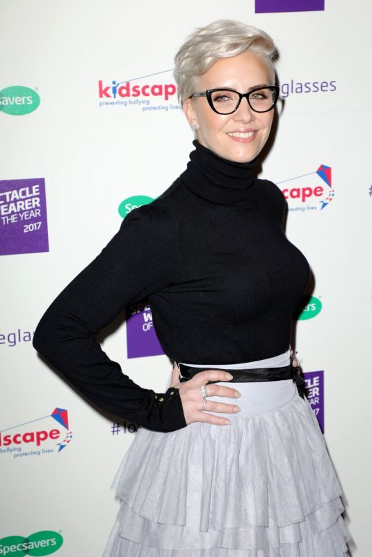 CLAIRE RICHARDS at Spectacle Wearer of the Year in London 10/10/2017