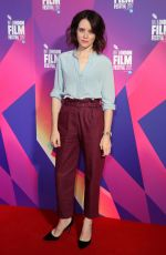 CLARE FOY at Breathe Photocall At BFI London Film Festival 10/04/2017