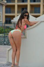CLAUDIA ROMANI in Bikini at a Beach in Florida 10/02/2017