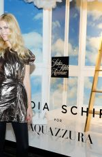 CLAUDIA SHIFFER at Claudia Schiffer for Aquazzura Launch at Saks Fifth Avenue in New York 10/17/2017