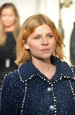CLEMENCE POESY at Chanel Fashion Show in Paris 10/03/2017