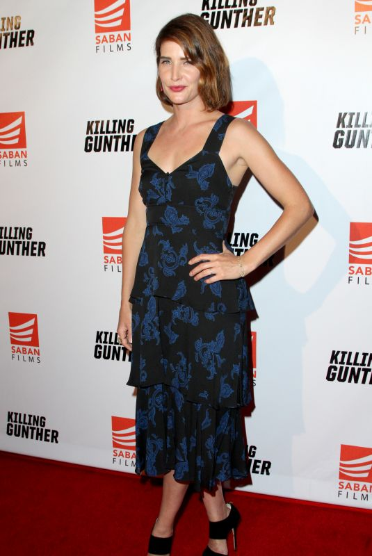 COBIE SMULDERS at Killing Gunther Premiere in Los Angeles 10/24/2017