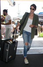 COBIE SMULDERS at Los Angeles International Airport 10/04/2017