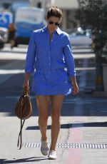 COBIE SMULDERS Out Shopping on Rodeo Drive in Beverly Hills 10/16/2017