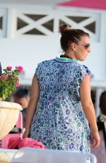 COLEEN ROONEY Out in Barbados 10/29/2017