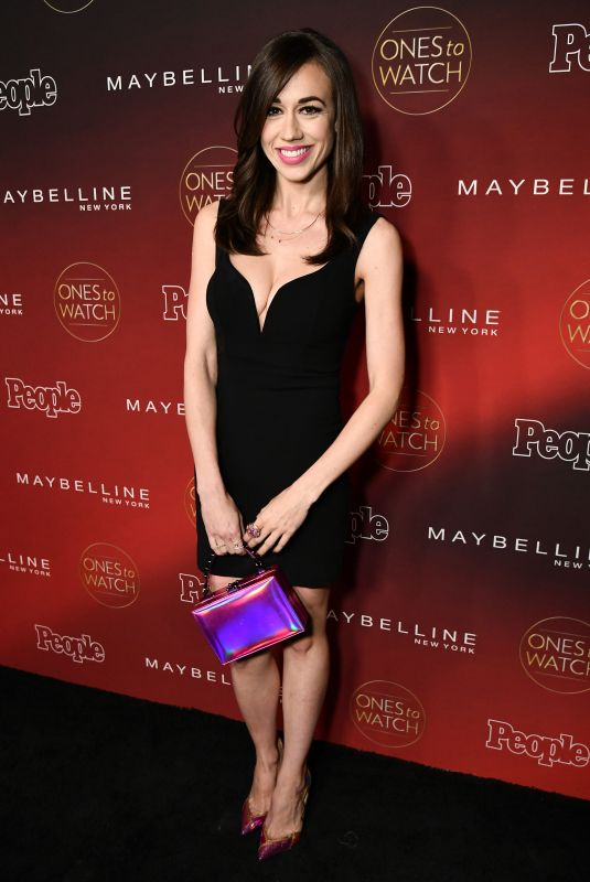 COLLEEN BALLINGER at People's Ones to Watch Party in Los Angeles 10/04/2017