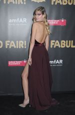 CONSTANCE JABLONSKI at 2017 Amfar Fabulous Fund Fair in New York 10/28/2017