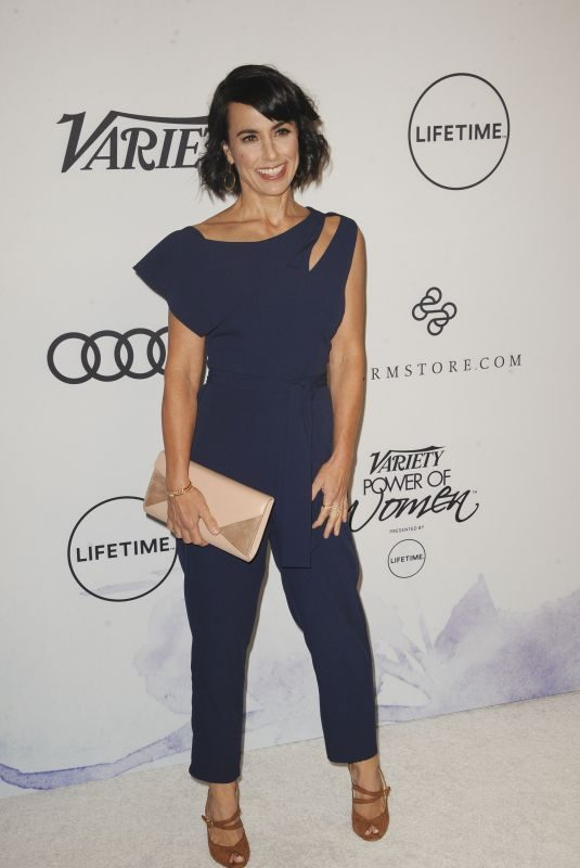 CONSTANCE ZIMMER at Amfar Inspiration Gala in Los Angeles 10/13/2017