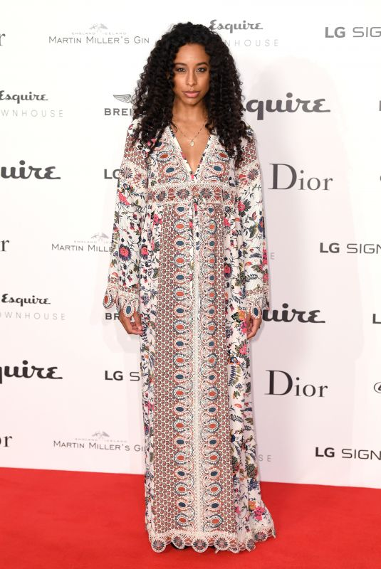 CORINNE BAILEY RAE at Esquire Townhouse with Dior Party in London 10/11/2017