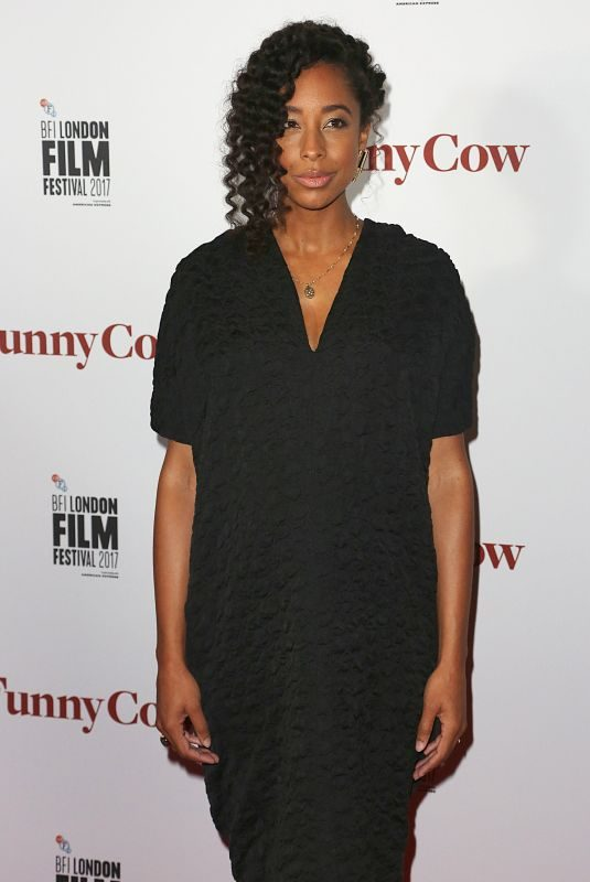CORINNE BAILEY RAE at Funny Cow Premiere at BFI London Film Festival 10/09/2017