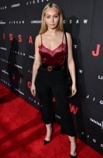 CORINNE OLYMPIOS at Jigsaw Premiere in Los Angeles 10/25/2017
