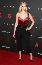 CORINNE OLYMPIOS at Jigsaw Premiere in Los Angeles 10/25/2017