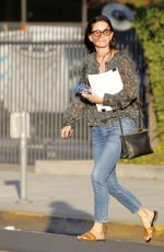 COURTENEY COX Out and About in Beverly Hills 10/10/2017