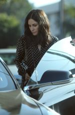 COURTENEY COX Out and About in Hollywood 10/12/2017