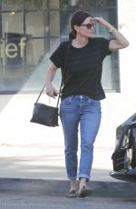 COURTENEY COX Out Shopping in West Hollywood 10/06/2017