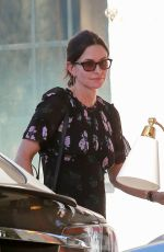 COURTENEY COX Shopping in West Hollywood 10/26/2017