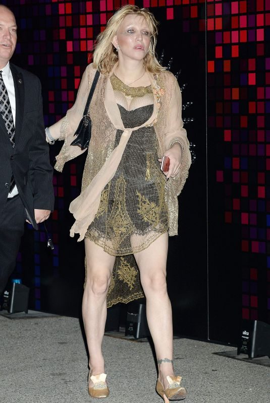 COURTNEY LOVE at Tequila Casamigos Halloween Bash in Los Angeles 10/27/2017