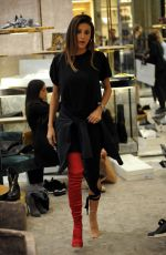 CRISTINA BUCCINO Out Shopping in Milan 10/17/2017