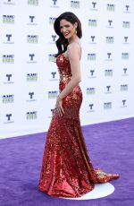 CYNTHIA OLAVARRIA at 2017 Latin American Music Awards in Hollywood 10/26/2017