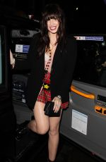 DAISY LOWE at Badoo Date of the Dead Party in London 10/26/2017