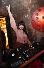 DAISY LOWE at Badoo Hosts its #dateofthedead Halloween Bash in London 10/26/2017