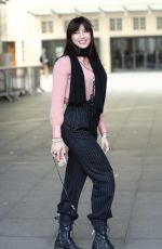 DAISY LOWE Leaves BBC Radio in London 10/15/2017