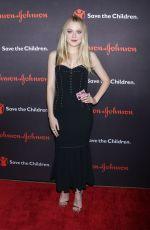 DAKOTA FANNING at 5th Annual Save the Children Illumination Gala in New York 10/18/2017
