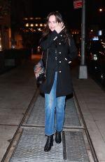 DAKOTA JOHNSON Arrives at Tao Restaurant in New York 09/30/2017