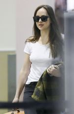 DAKOTA JOHNSON at LAX Airport in Los Angeles 10/28/2017