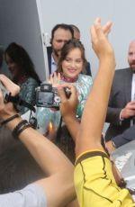 DAKOTA JOHNSON Leaves Her Hotel in Rio De Janeiro 10/23/2017