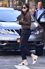 DAKOTA JOHNSON Out and About in New York 10/02/2017