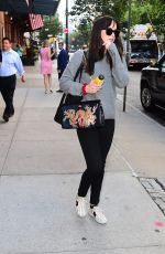 DAKOTA JOHNSON Out and About in New York 10/06/2017