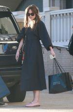 DAKOTA JOHNSON Shopping at Barney