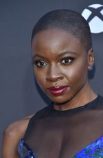 DANAI GURIRA at The Walking Dead, Season 8 Premiere in Los Angeles 10/22/2017