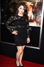 DANIELA BOBADILLA at Thank You for Your Service Premiere in LLos Angeles 10/23/2017
