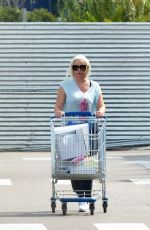 DANIELA KATZENBERGER Shoping at Ikea in Mallorca 09/30/2017