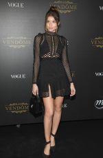 DANIELA LOPEZ OSORIO at Vogue Party at Paris Fashion Week 10/01/2017