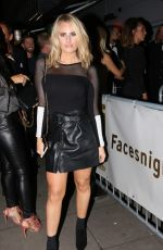DANIELLE ARMSTRONG and MEGAN MCKENNA at Faces Nightclub in Essex 10/07/2017